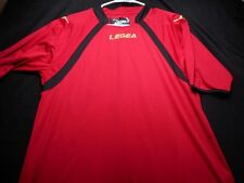Legea Red Black Athletic Large Men's Shirt
