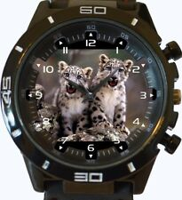 Snow Leopard Cubs New Gt Series Sports Unisex Watch