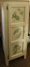 Shabby But Chic Cabinet Or Cupboard - Linen Or Blanket Display!