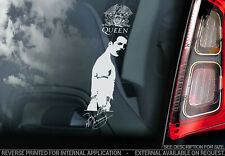 QUEEN, Car Sticker, Freddie Mercury Rock Band Music Window Bumper Decal Sign V06