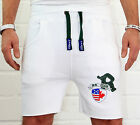 "Hombre Capri Pantalón corto bermudas Mujer Footing Pantalones Fitness EE.UU."" R"""