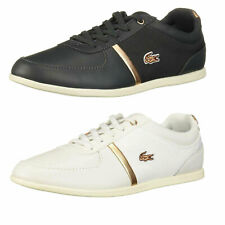 NEW Lacoste Womens Casual Shoes Rey Sport Lace-Up Fashion Sneakers