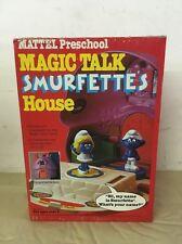 1983 Magic Talk SMURFETTE'S HOUSE Mattel NIB NOS Unopened Vintage