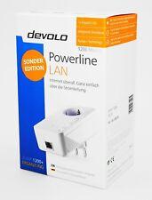 Devolo dLAN 1200+ LAN Starter Kit - Powerline Einzeladapter weiß - Neu & OVP