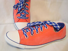 Converse All Star Light Ox Shoes Size 8 Orange