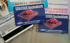15€ SCHLECKER Geschenkkarte leer (wie NEU) Karte Sammler