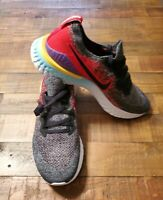 Nike Epic React Flyknit 2 Mens Size 12.5 Running Shoes BQ8928 007 Multicolor