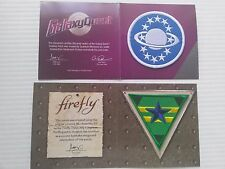 New Firefly Independents & Galaxy Quest Patches - Loot Crate Exclusive Lot of 2