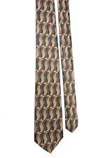 "Mark Jason Boys' Polyester Wavy Taupe Gray Multi Neck Tie 3"" x 48"""