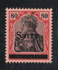 CKStamps: Germany Stamps Collection Saar Scott#16 Mint NH OG Signed