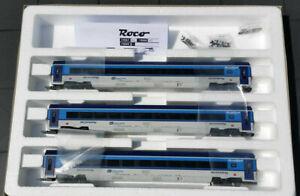 Roco 74069 H0 Wagenset CD Railjet, Wechselstrom, AC,