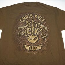 CHRIS KYLE THE LEGEND FROG FOUNDATION US NAVY SEAL TEE T SHIRT Sz Mens M
