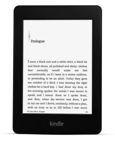 """Kindle Paperwhite 6"""" Wi-Fi E-Reader High-Resolution Display, Built-in Light 2013"""