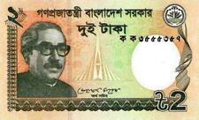 Bangladesh 2011 billet neuf de 2 taka pick 52a UNC