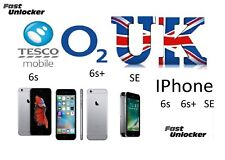 O2 Tesco UK official factory unlock code for apple iPhone 6s 6s+ plus & SE