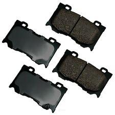 Disc Brake Pad Set-Performance Ultra Premium Ceramic Pads Front Akebono ASP1346