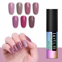LILYCUTE 5ml Nail Art Vernis à Ongles Semi-permanent Gel Polish UV LED Manucure