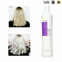 No Yellow Color Shampoo Fanola Purple Hair Toner DIY Grey Blonde Bleached Brassy