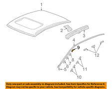 Acura HONDA OEM 04-08 TSX-Roof Molding Clip Left 73163SEA003