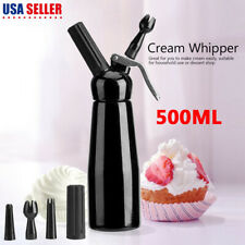 Coffee Dessert Cream Fresh Butter 500Ml Whip Dispenser Whipper Cake Foam Maker