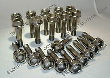 Ferrari 458 Italia Titanium Wheel Bolts - Polished