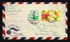 Belgian Congo 1956 Cover to USA / 9.50F Total w/ Letter - Z18243