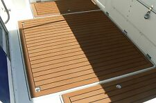 "Unique Yacht EVA Foam Teak Boat Teak Decking UC913 Floor Mats 5MM Carpet 35""*91"""