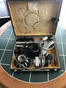 Vintage Photographic Enlarger In Case Russian Vintage