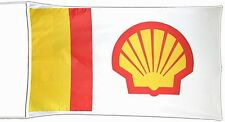 Large Shell nylon flag 1500mm x 740mm (of)