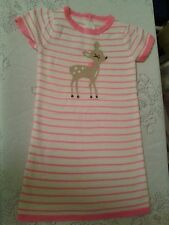 NWT GYMBOREE FAIRY TALE FOREST PINK STRIPED FAWN DRESS  SIZE 5T
