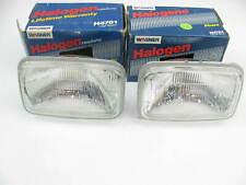 (2) Wagner H4701 Sealed Beam Headlight Headlamp - 12V 92x150 65 Watt