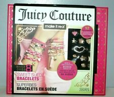 Juicy Couture Make It Real Sweet Suede Bracelets Charms Diy Making Kit Girls