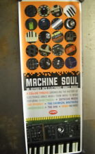 Machine Soul Orange promo poster Dance Moog Moby Depeche Mode Kraftwerk The Orb