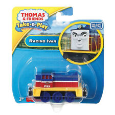 Fisher-price Thomas Y Amigos Take-n-Play Racing Ivan DIE-CAST Motor (DLR76)