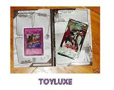YuGiOh Hidden Soldiers POWER OF THE DUELIST Sneak Peek Book & Card
