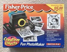 Fisher Price Creative Effects Fun PhotoMaker Instant Camera With Original Box
