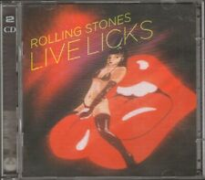 ROLLING STONES Live Licks  2 CD 23 track 2004 Sheryl Crow Solomon Burke