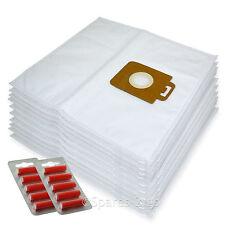 10 x Cloth Vacuum Bags For Nilfisk Power P10 P12 P20 P40 Hoover Bag + Fresh