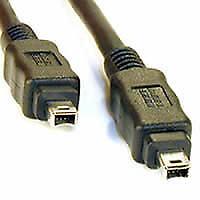 3m Cavo FireWire IEEE 1394 4 a 4 PIN DV fuori per PC