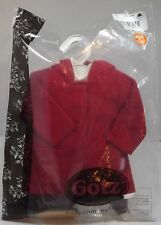 ORIGINAL GOTZ SASHA GREGOR DOLL OUTFIT SET RED COAT #3008919 IN PACKET