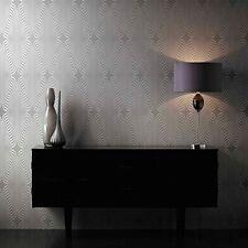 deco gris Purpurina Plateada Papel pintado estampado bob-19-01-9