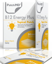 NEW PatchMD B12 Energy Plus Patch 30-patches Patch-MD Ex 2021