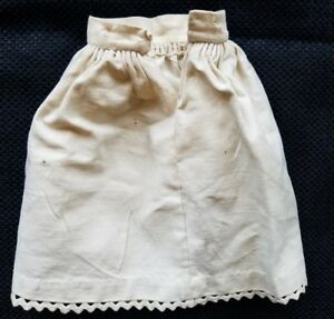Antique Doll Skirt Slip Petticoat Teddy Bear Clothes Primitive Vintage A14
