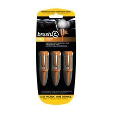 Brush T Oversize Orange Golf Tee X3