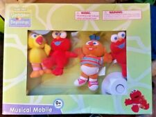 Sesame Street Beginnings Musical Mobile Infant Newborn Crib Toy