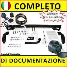Gancio di traino fisso Fiat Doblo 2001-2010 + kit elettrico 13-poli Rimorchio