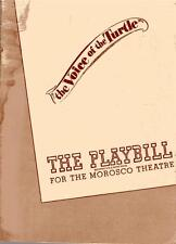Vintage Playbill 1940's Voice of the Turtle Morosco Theatre L1024