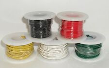 5 Color Wire Rolls 22 AWG Stranded Core 25ft each 125ft Total