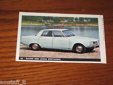 ROVER 2000=FIGURINA=1965/66=ALBUM FIGURINE AUTOMOBILI D'OGGI