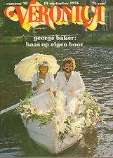VERONICA 1976 nr. 38  - GEORGE BAKER / BILL RILEY / TON PLANKEN / TOP 40
